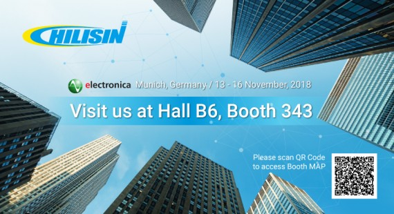 Meet Chilisin at electronica 2018